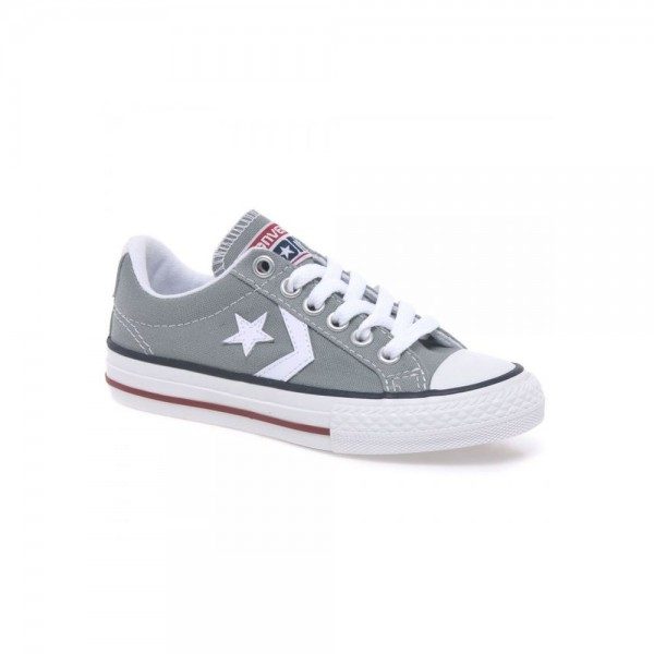 Converse Star Player Gris (Talla 27 a 38)