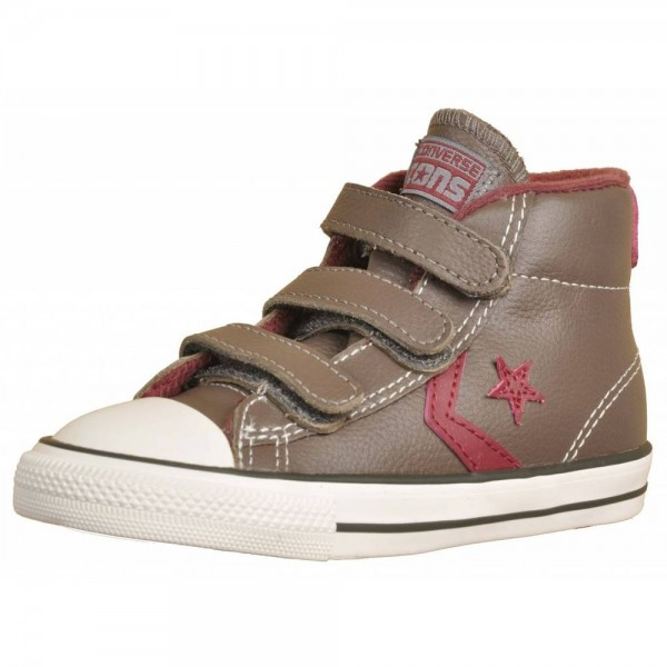 Converse Star Player Marrón/Burdeos (talla 22 a 26)
