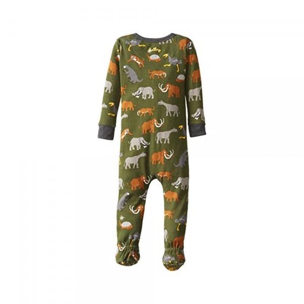 Pijama con pie animales prehistóricos