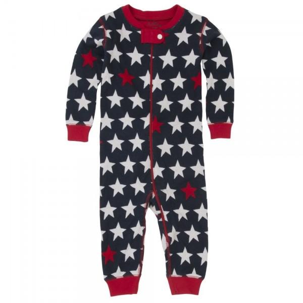 Pijama estrellas sin pie