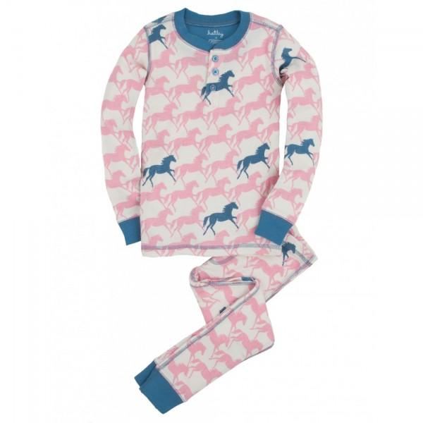 Pijama dos piezas caballos