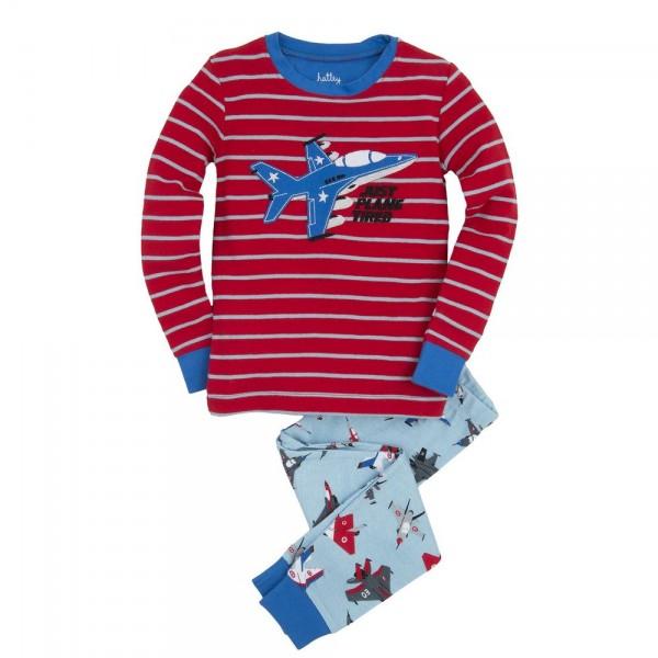Pijama dos piezas aviones