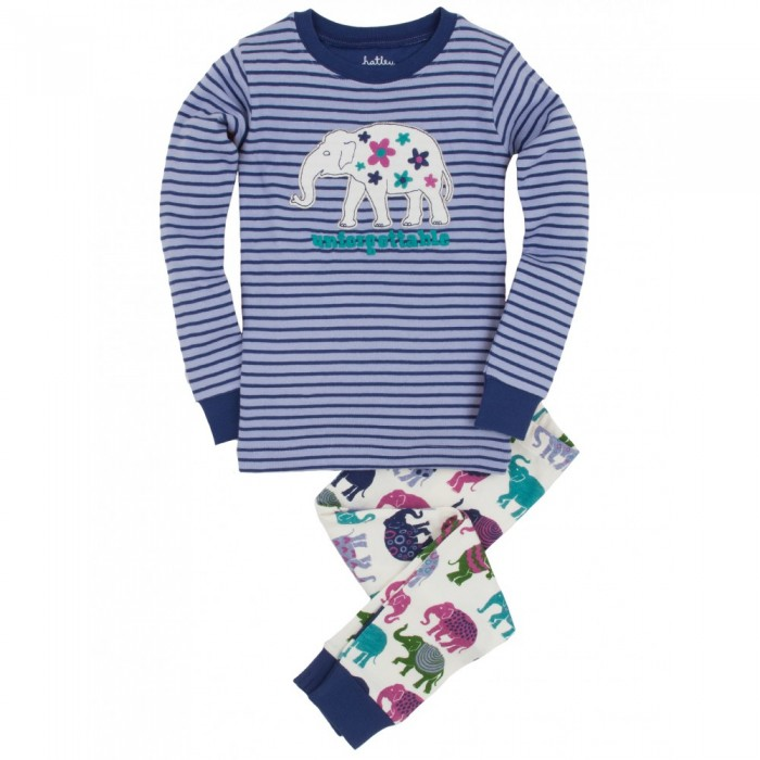 Pijama dos piezas elefante