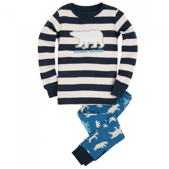 Pijama dos piezas oso polar
