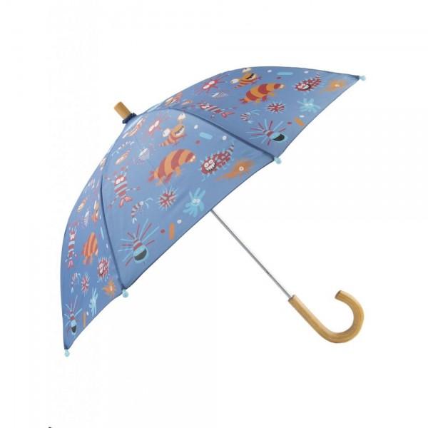 Paraguas criaturas microscópicas
