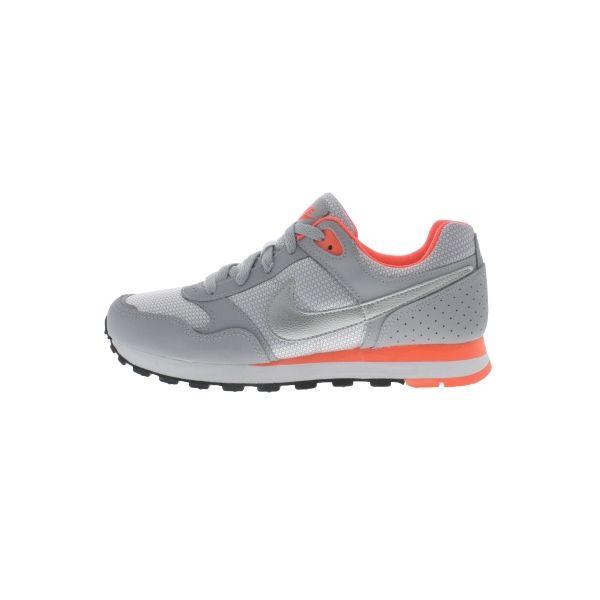 Nike MD Runner GG Gris/Naranja (Tallas 35.5 a 38.5)