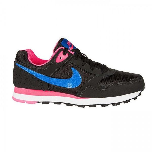 Nike MD Runner GG Negro/Azul/Rosa (Tallas 35.5 a 38.5)