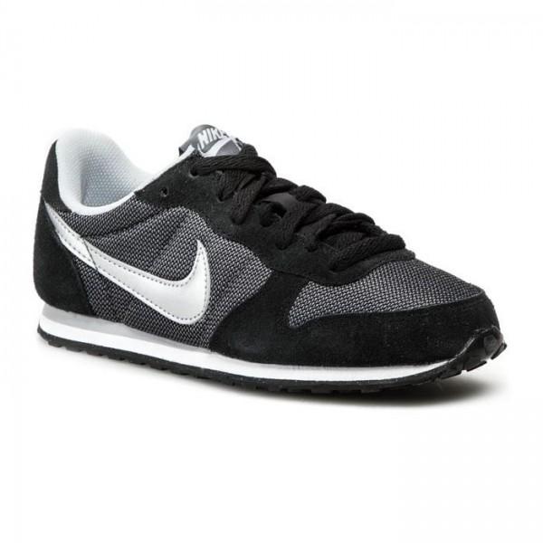 Nike Genicco Gris/Plata/Negro (Tallas 36 a 40)