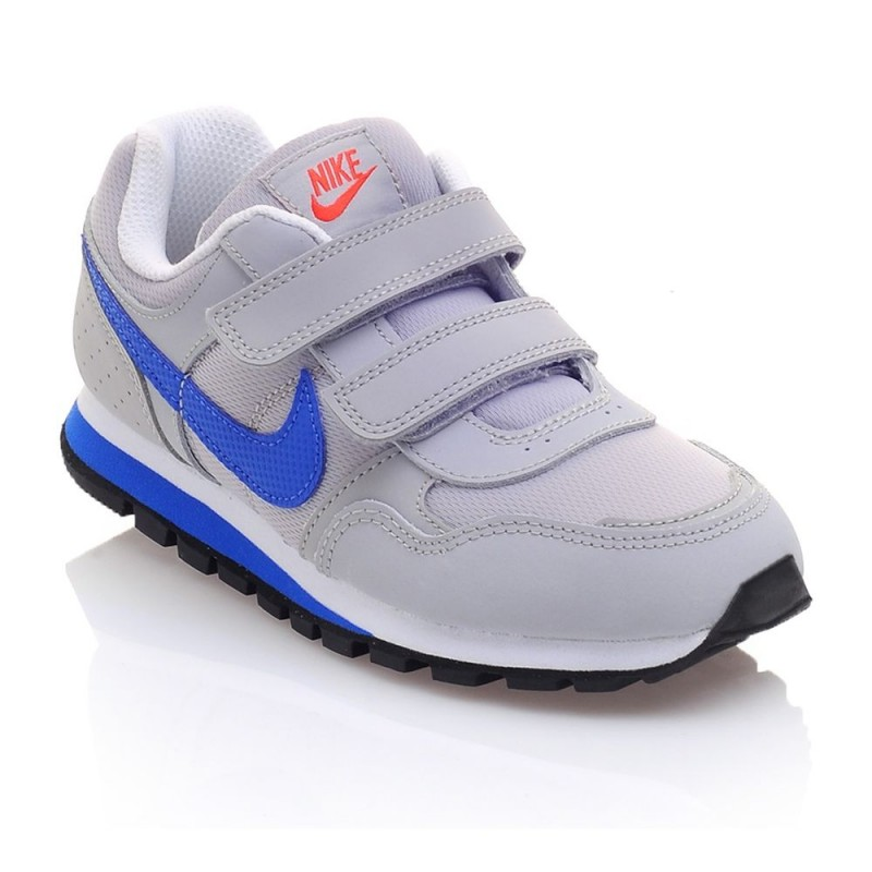 presentar Rayo Entender  Nike MD Runner PSV Gris/Azul (talla 28 a 35)