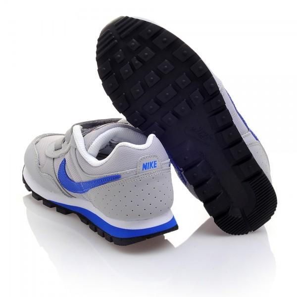 Nike MD Runner PSV Gris/Azul (talla 28 a 35)