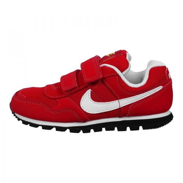 Nike MD Runner PSV Rojo/Blanco (talla 28 a 35)