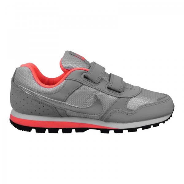Nike MD Runner Gris/Naranja (talla 28 a 35)