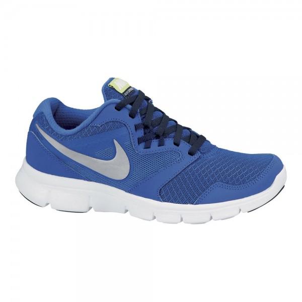 Nike Flex Experience 3 (GS) Azul/Plata (Talla 35.5 a 40)