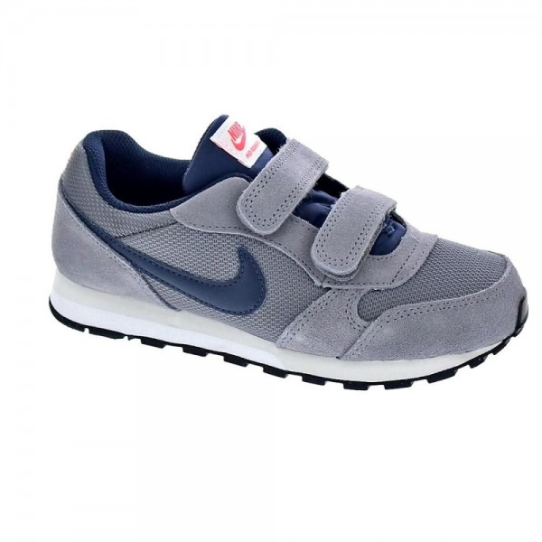 Nike MD Runner Gris/Marino (Talla 28 a 35)