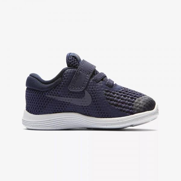 Nike Revolution Azul/Gris (Talla 19.5 a 27)