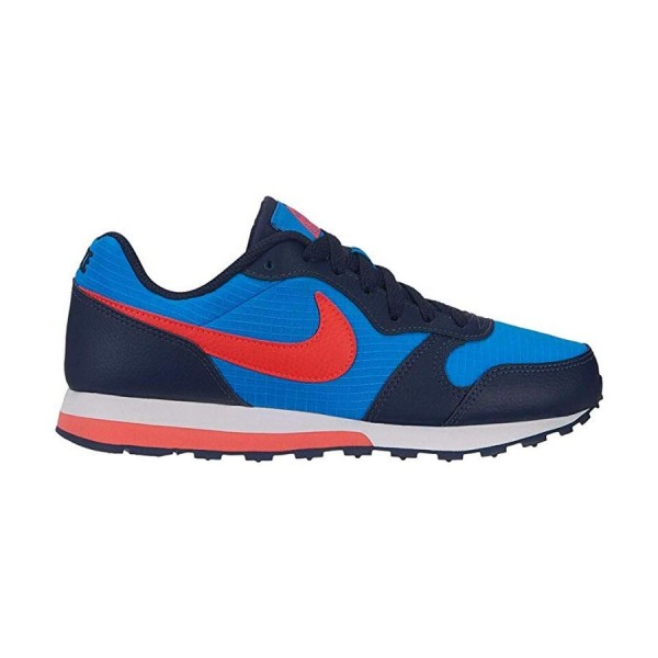 Nike MD Runner Azul/Coral (talla 36 a 40)