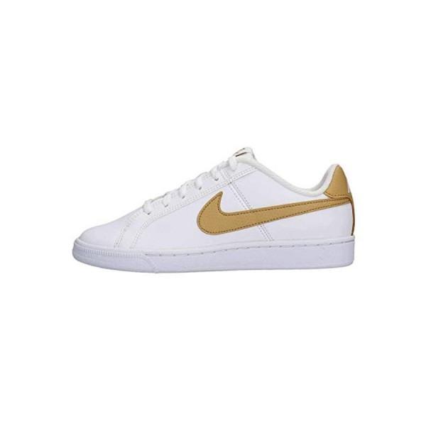 Nike Court Blanco Oro (talla 36 a 40)