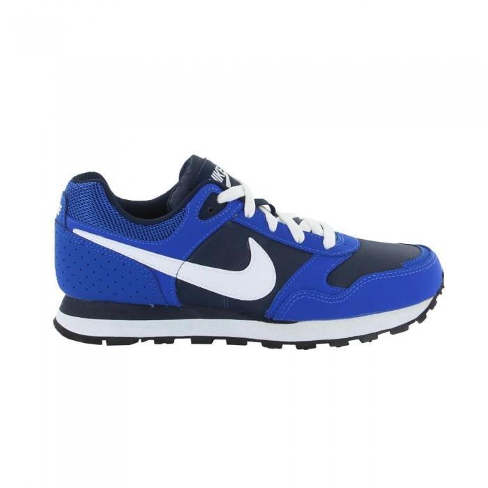 Nike MD Runner BG Azul/Blanco (Tallas 35.5 a 40)