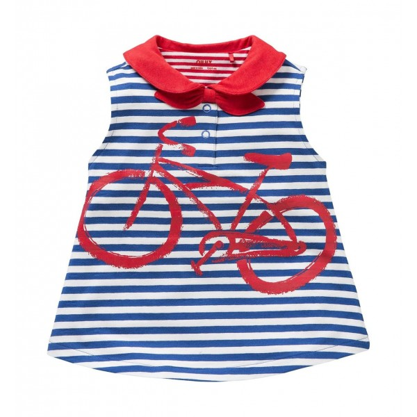 Camiseta con cuello bicicleta