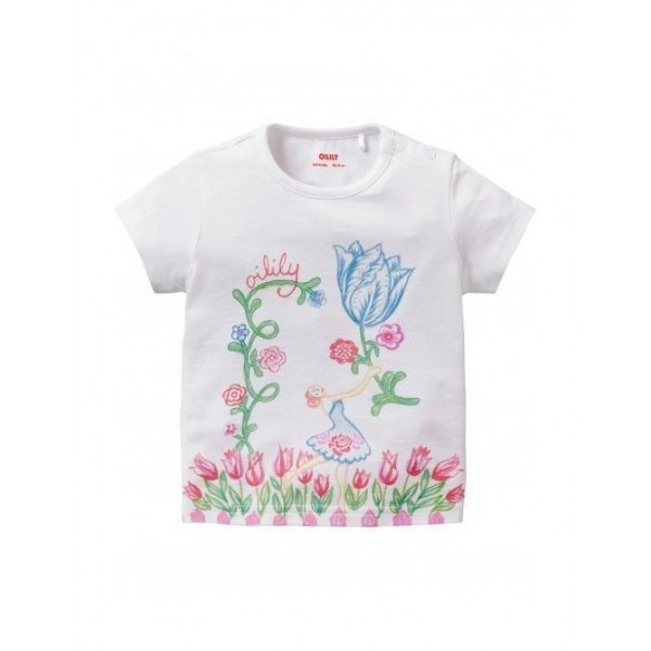 Camiseta tulipán