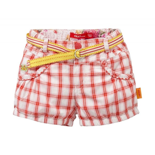 Pantalón corto cuadros