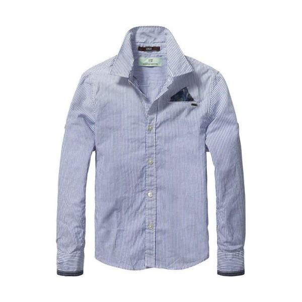 Camisa rayas con coderas