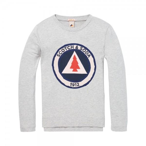 Camiseta con motivo gráfico de colores