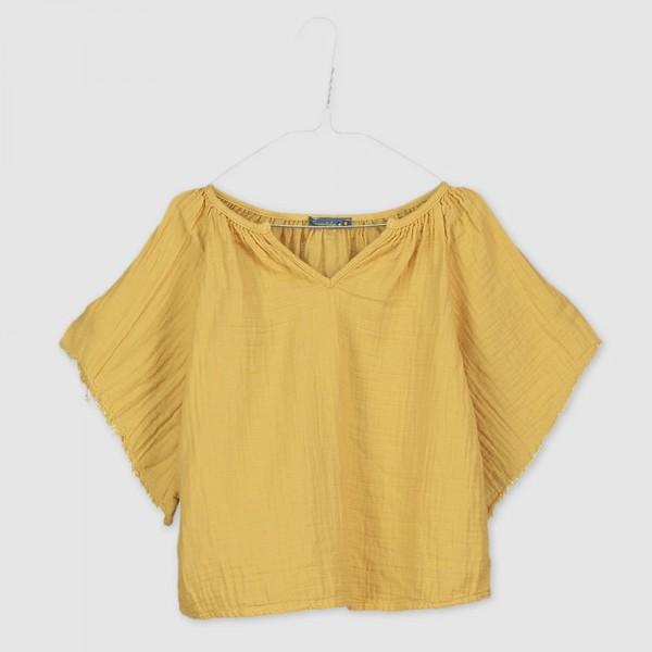 Blusa amplia amarilla