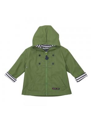 Chubasquero bebé verde