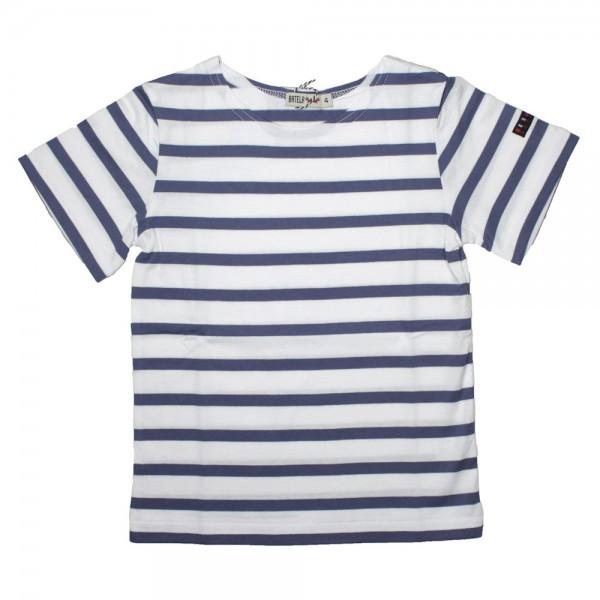 Camiseta marinera Blanco/Jean