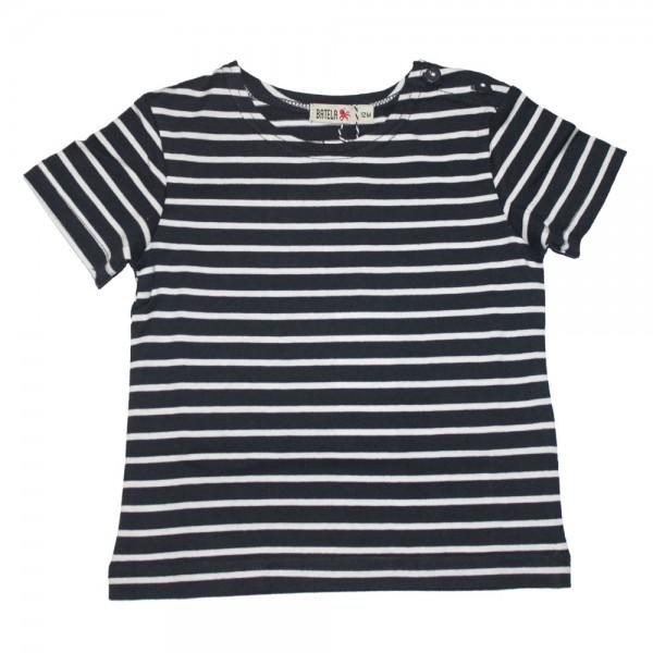 Camiseta marinera bebé Marino/Blanco