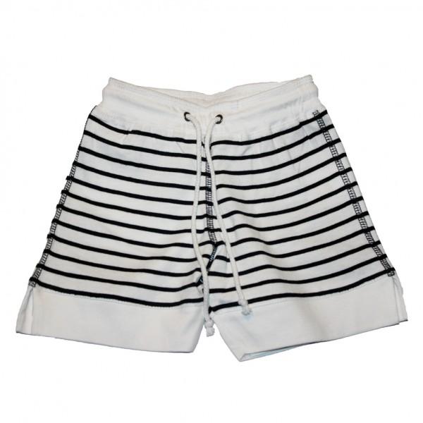 Pantalón corto bebé Blanco/Marino