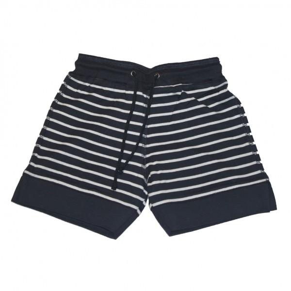 Pantalón corto bebé Marino/Blanco