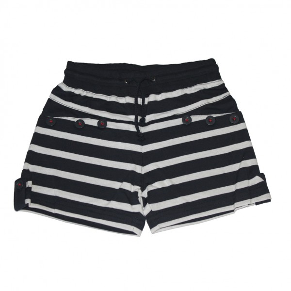 Pantalón corto Marino/Blanco