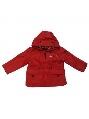 Chubasquero bebé Rojo