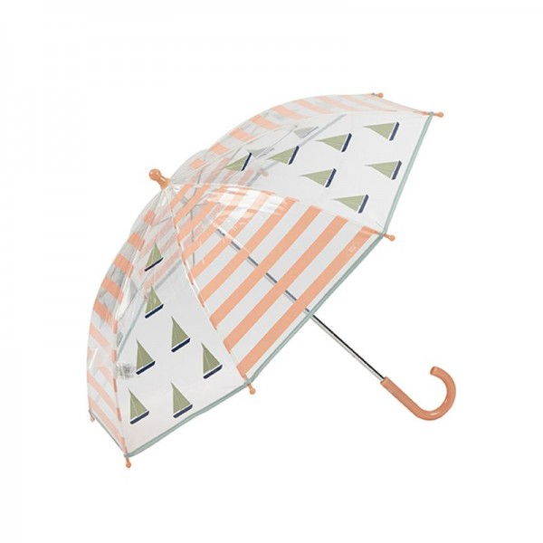 Paraguas marinero salmón