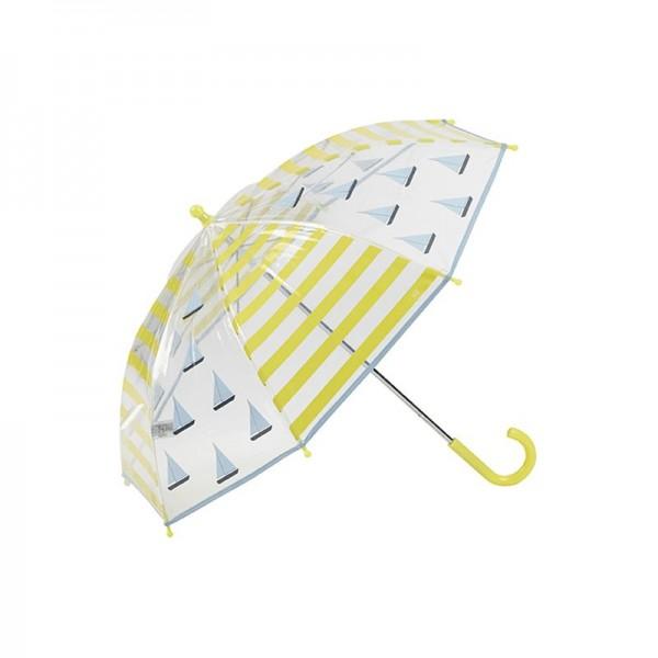 Paraguas marinero amarillo