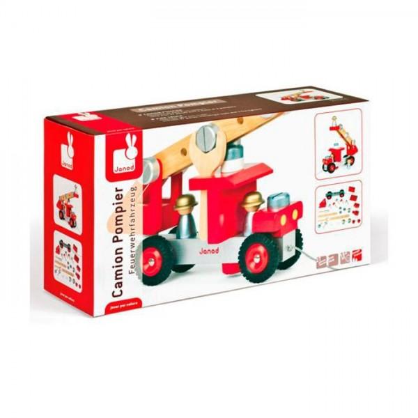 Construye tu camion de bomberos