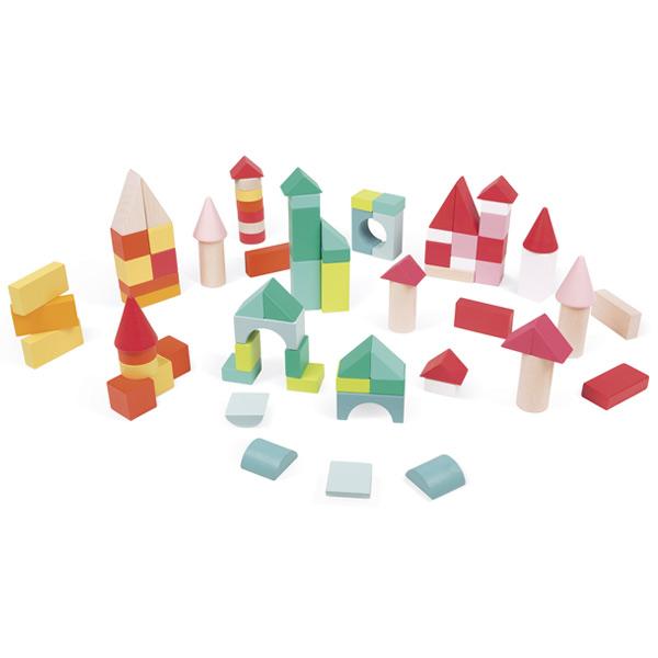Kubix 80 cubos de madera