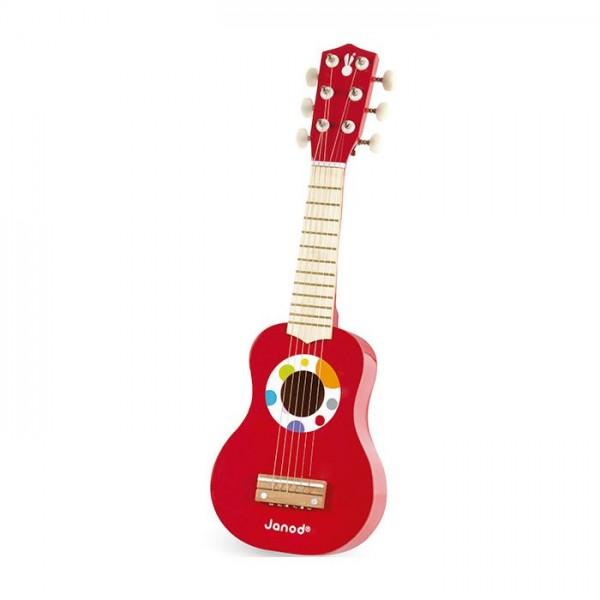 Mi primera guitarra 6 cuerdas confetti