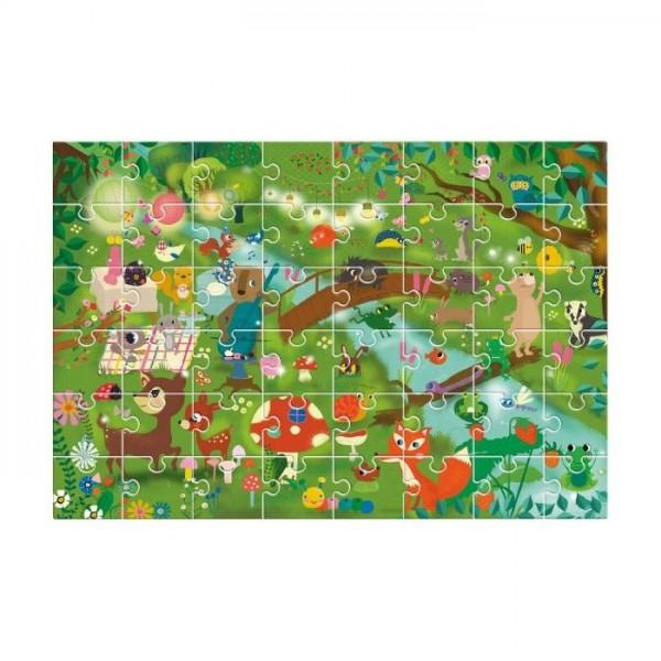 Puzle gigante El bosque 48 piezas