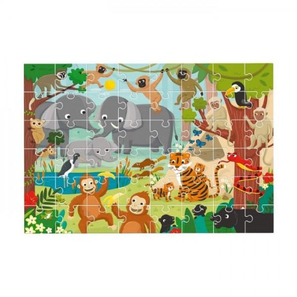 Puzle gigante La jungla 48 piezas