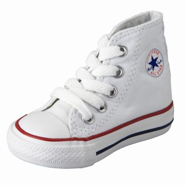 Converse Chuck Taylor All Star Blanco (talla 19 a 26)