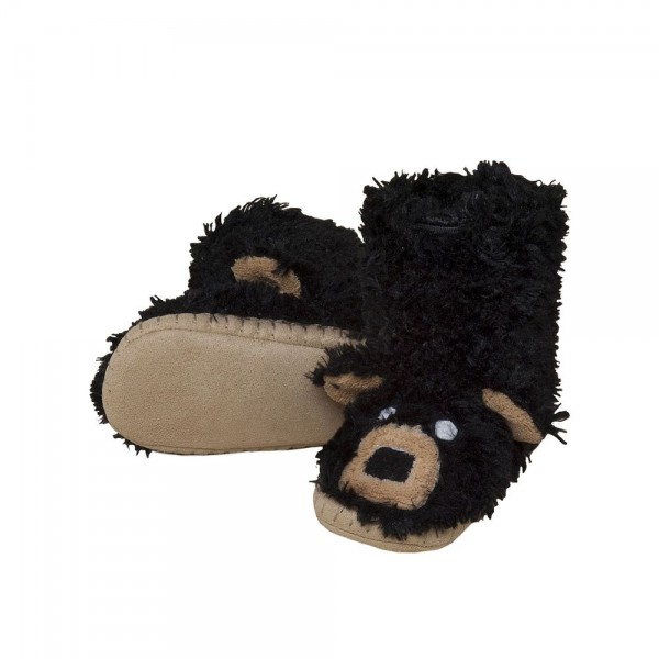 Black Bear Slippers