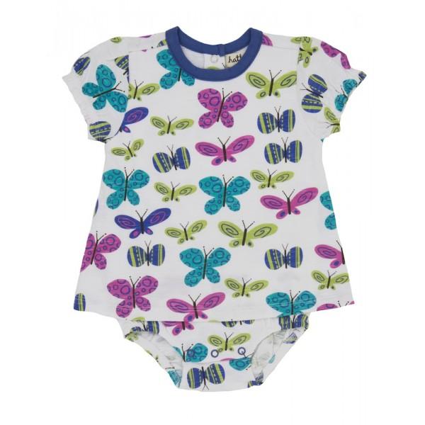 Vestido body mariposas