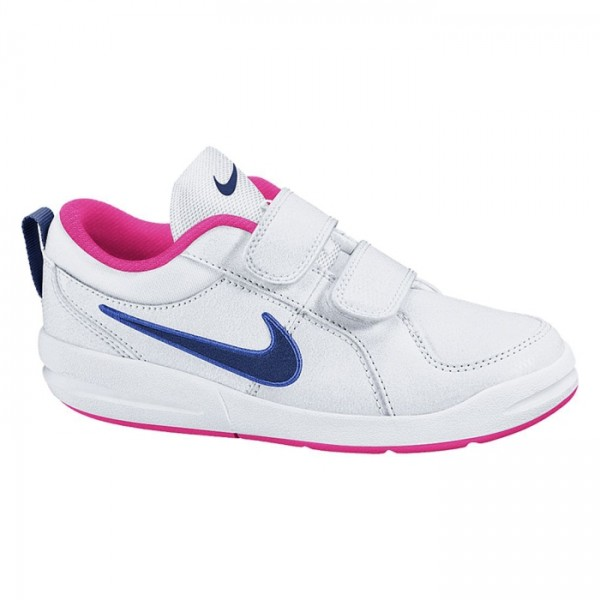 Nike Pico 4 (PSV) Blanco/Azul/Rosa (talla 28 a 35)