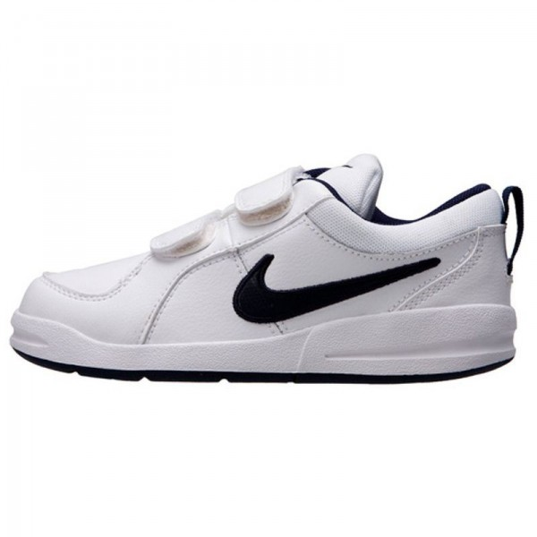 Nike Pico 4 (PSV) Blanco/Marino (talla 28 a 35)