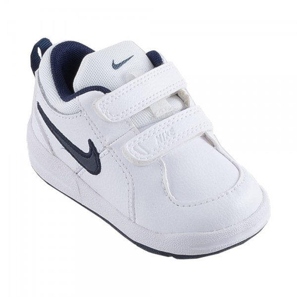 Nike Pico 4 (TDV) Blanco/Marino (talla 21 a 27)