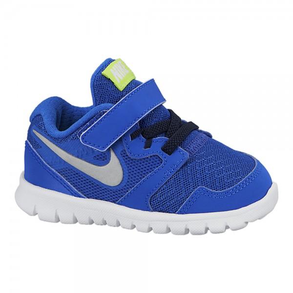 Nike Flex Experience 3 (TDV) Azul/Plata (Talla 21 a 27)