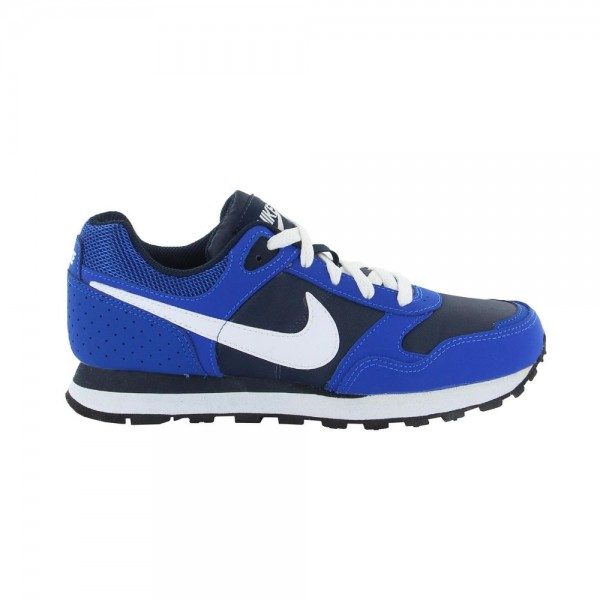Nike MD Runner BG Azul/Blanco (Tallas 35.5 a 40)